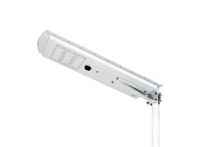 All In One 50w Led Street Light With Sensor 80 CRI Easy Installations