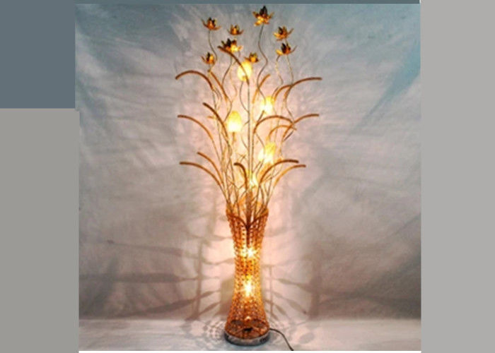 Art Decorative Floor Lamp Eye Protection  Led Floor Lamps For Home Aluminum Body